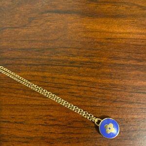 Louis Vuitton Blue Charm Necklace